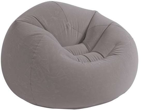 Intex 68579 Inflatable Beanless Bag Air Chair Gray  sc 1 st  Souq.com & Intex 68579 Inflatable Beanless Bag Air Chair Gray