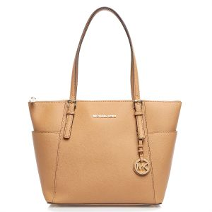 f4fe679b1a746 Michael Kors 30F2GTTT8L-198 Jet Set Top-Zip Saffiano Tote Bag for Women -  Leather