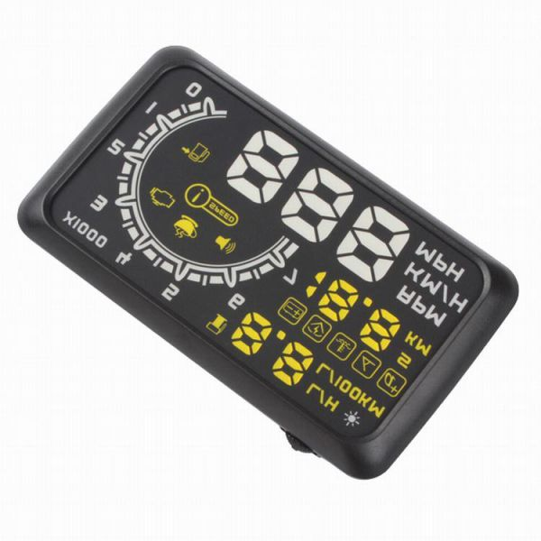 d472d599c5 ASH-4 4C 2015 5.5 Inch LED Digital Speedometer OBD II HUD Car Head Up  Display System
