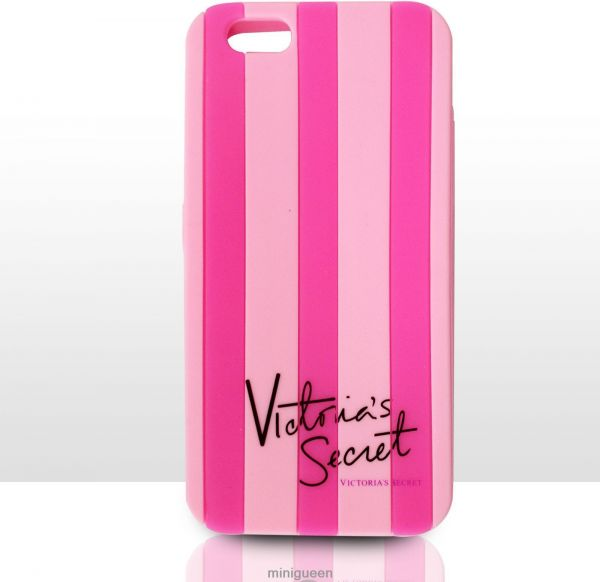 e9c94fc228a42 Victoria Secret Case Stripe Cover for iPhone 6 Plus/iPhone 6S Plus (Pink /  Pink strips )