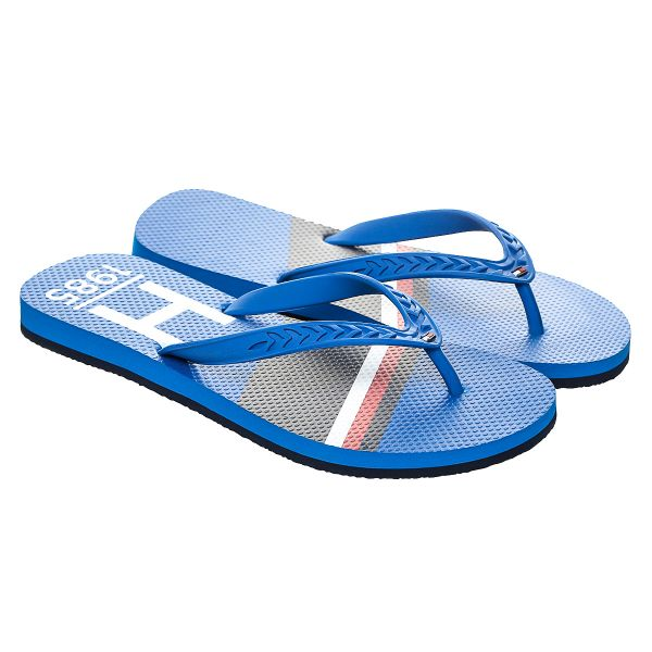 b6a896d159520 Tommy Hilfiger Blue Flip Flops Slipper For Men