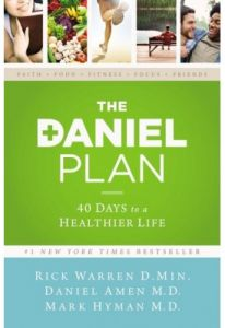 The Daniel Plan by Rick Warren and Dr. Mark Hyman - Hardcover