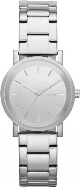 DKNY Soho Women's Silver Dial Stainless Steel Band Watch - NY2177