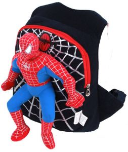 ef7ed7e437e4 3D spiderman school bag backpack kids children cartoon school backpacks