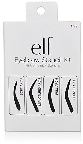 Souq e l f eyebrow stencil kit uae for Eyebrow templates printable