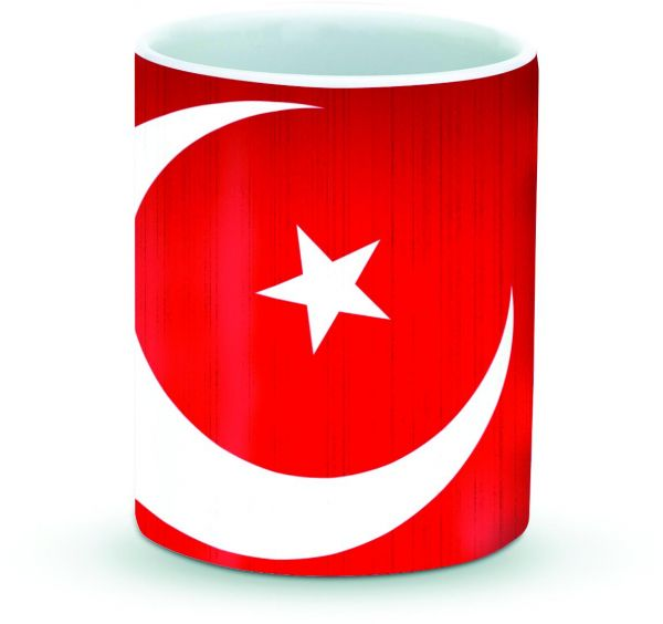 Stylizedd Mug 11oz Ceramic Mug Flag of Turkey