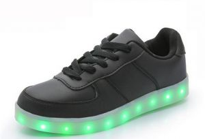 532afcd52 7 Colors Fashion LED Sneakers USB Charging Lights shoe
