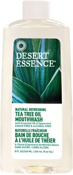 Desert Essence Tea Tree Oil Mouthwash 8 Fl Oz 240 Ml Souq Uae