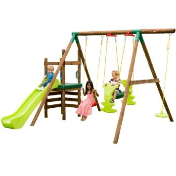 Little Tikes Strasbourg Slide N Swing Set 171161 Souq Uae