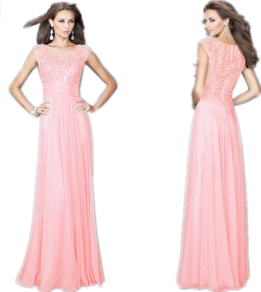5c99c4f32622e Long Evening Dress For Women (pink)