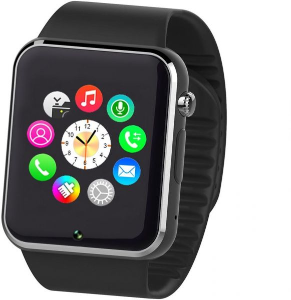 99c2506470e Fantime Smart Phone Watch with SIM Card and Memory Card - Black ...