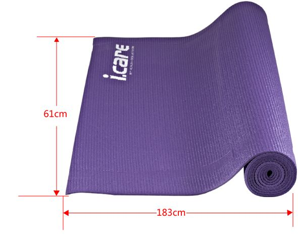 I Care Yoga Mat Purple Jic030 Souq Uae