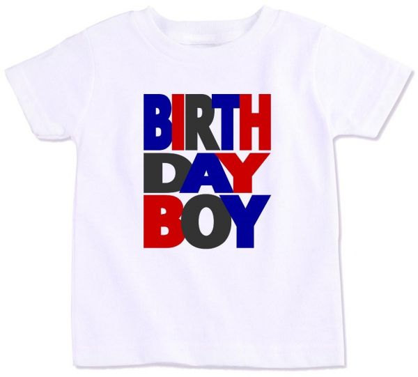 Birthday Boy T Shirt 8 To 9 Years
