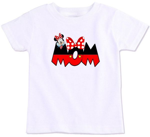 Minnie Mouse Mom Family Matching T Shirt Small