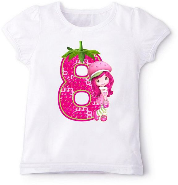 Strawberry 8Th Birthday T Shirt