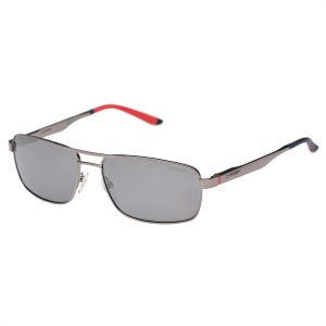 c6b165debf Carrera Rectangle Men s Sunglasses - Matte Gray - CARRERA 8011 S R81  DY-58-16-140