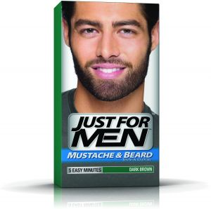 Just for Men Mustache & Beard Brush-In Color Gel - Dark Brown | Souq ...