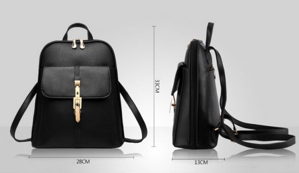 Women Leather Backpack Women School Bag Satchel Travel Bag Ladies Backpack  For Women Bag  9ab1e12581