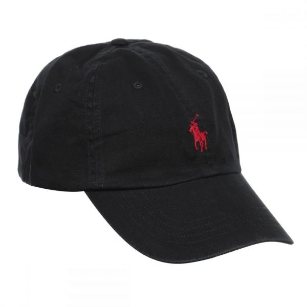 Polo Ralph Lauren Signature Pony Cap with Leather Buckle Strap for ... b9481d48acf