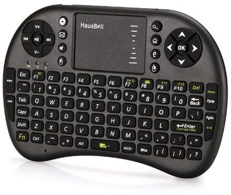 6af839b13e9 2.4GHz Mini Wireless Keyboard with Touchpad Mouse Combo Black | KSA ...