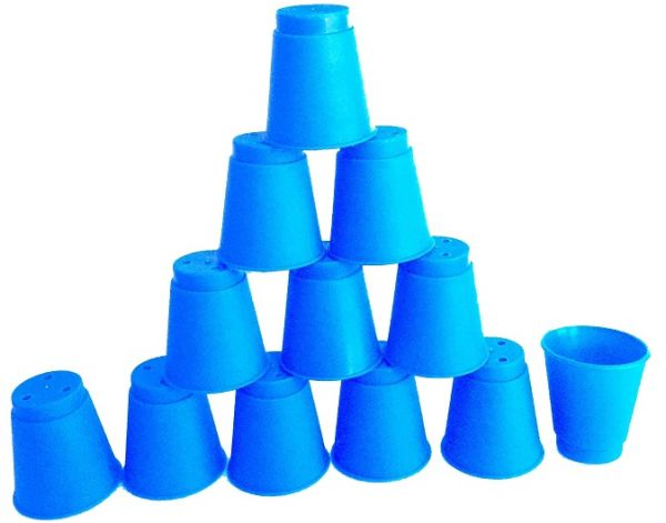 kids educational toys mini speed stacks magic cup stacking flying