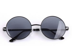 20fa589f6e6 Retro Round Sunglasses Metal Glass Frame Sunglasses for men and women