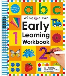 Wipe Clean Early Learning Workbook by Roger Priddy - Spiral Bound