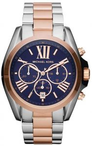 f10d391718be7 Michael Kors Bradshaw Watch for Unisex - Analog Stainless Steel Band -  MK5606
