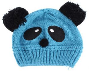9cbccb00b6a Toddler Baby Kid Warm Beanie Cap Cartoon Panda Ball Knitted Crochet Winter  Hat