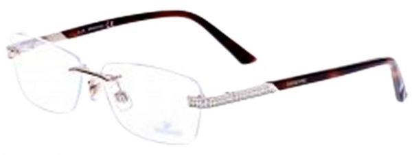 9e3245eb0842 Swarovski Eyewear Frames For Women Rimless Frame Made Of Metal ...