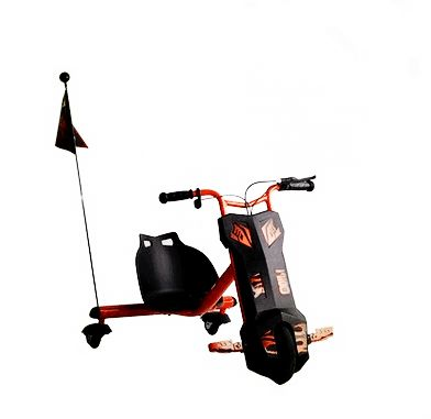 Kids 3 Wheel Electric Bicycle Drifting Scooter Red Ksa Souq