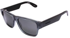 1a14fd02c4 Carrera Square Kids Sunglasses Gray   Black