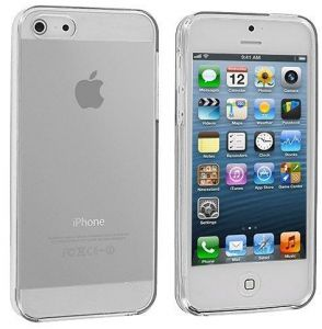 TPU Clear Case With Glass Screen Protector For Apple IPhone 5 And 5s