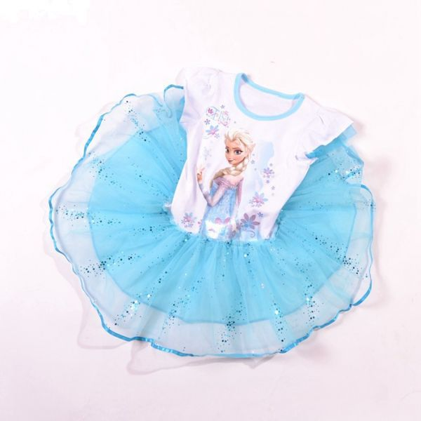 Elsa Anna Frozen Tutu Girls Baby Dress Pink Color 4-5 Years  sc 1 st  Souq.com : baby frozen anna costume  - Germanpascual.Com