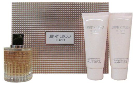 Jimmy Choo illicit eau de parfum 3 pcs gift set