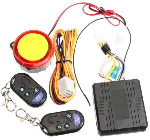 12V Remote activation Motorcycle Alarm System Anti-theft Remote Control Engine Start | Souq - UAE