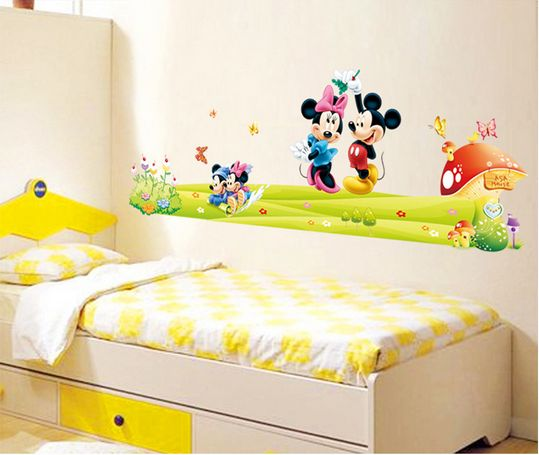 Souq | Mickey Mouse Cartoon Children Room Decoration Stickers ...