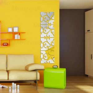 Mirror Wall Sticker Acrylic Decals