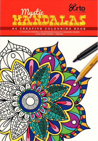 Souq Coloring Book For Adults Mystic Madalas Uae