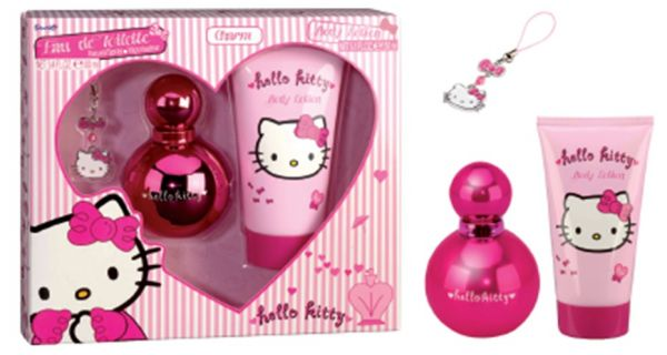 Hello Kitty Gift Set For Kids Pink 4972