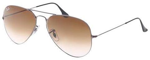 3a49570b44 Ray Ban Aviator Gradient Gunmetal Unisex Sunglasses - RB3025-004-51 ...
