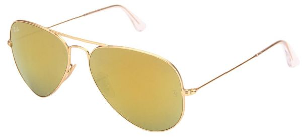 17c9d71758 Ray Ban Aviator Flash Lenses Gold Unisex Sunglasses - RB3025-112-93 ...