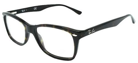 ff495f2656 Ray Ban Rectangle Full Rim Frames for Unisex - Tortoise Black