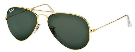 5f1696642fcd ... Aviator Unisex Sunglasses - RB3025-001-58 58. by Ray-Ban