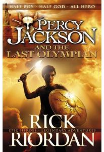 Percy Jackson and the Last Olympian by Rick Riordan - Paperback