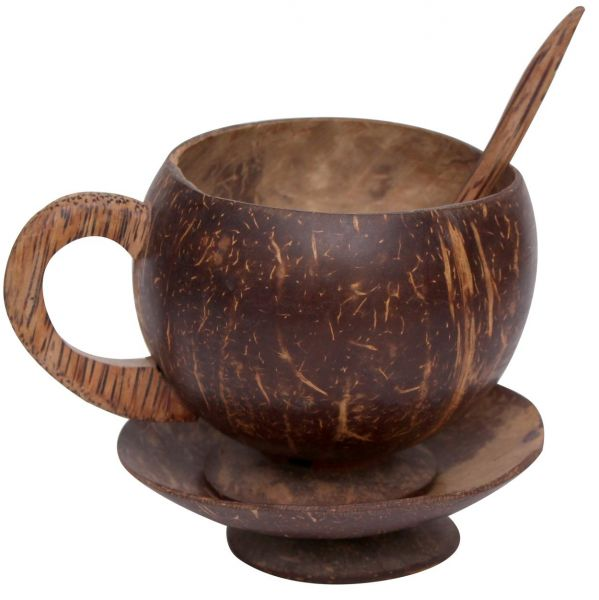 Souq Wooden Vases And Decorative Bowls Brown Uae