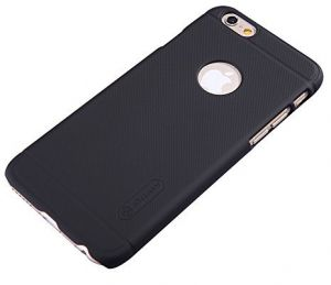 Nillkin Frosted Shield Phone Case cover for Apple iPhone 6 6S with Screen  Guard - Black b075a5a5280f