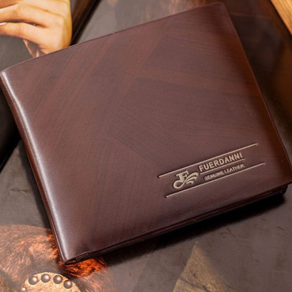 423a1399ed45 Fuerdanni Brown Leather For Men - Wallets