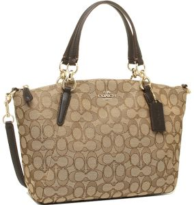 Coach Satchel Bag for Women - Brown bfe3f4f912bc0