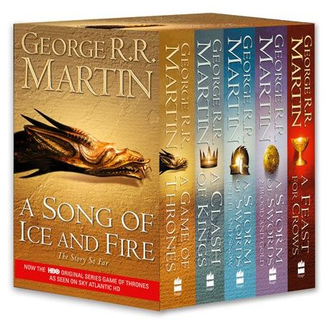 26107a4fe3f3c A Game of Thrones - The 5 Books - A Song of Ice and Fire